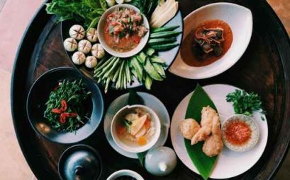 North of Thailand's local foods